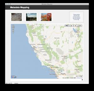 metadata mapping layout
